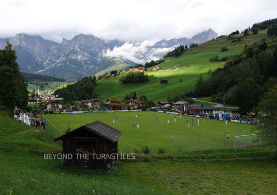 The Hills Are Alive With the Sound Of Football (UFC Maria Alm, Austria)